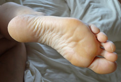 DSC04011-1 (thermosome) Tags: wrinkled soles mature foot feet