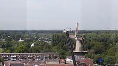 Uitzicht vanuit de Watertoren (John van Rhijn) Tags: watertoren molen aeolus johnvanrhijn uitzicht vlaardingen panorama