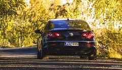 VW Passat CC-1483 (>>Marko<<) Tags: joensuu linnunlahti auto cc passat venesatama volkswagen vw car suomi finland vehicle black back rear dasauto