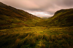 Granny's Pass (Piotr Dominiak Phototherapy) Tags: ireland donegal longexosure clouds movement nikon d7100 sigma1020 valley rocks mountains