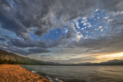 South Lake Tahoe bend (agr8one) Tags: sunset lake tahoe nevadabeach