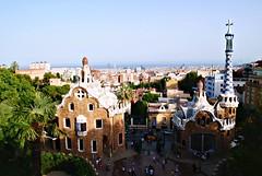 Parc Guell, Barcellona. (i(m)magine.) Tags: panorama spain mirador barcellona spagna gaud bacelona