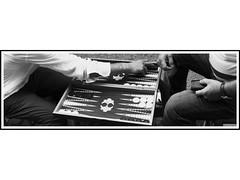 Istanbul # 2 Tavla (Rumbo181) Tags: blackandwhite game board bn juego pretoebranco istambul turquia backgammon tablero estambul tavla