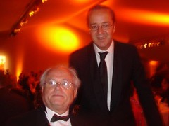 Frederic Rouzaud, the owner of Pichon Lalande, Roeder with Gildas