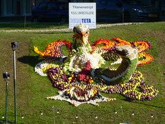 Battle of the Titans (Stefan Peerboom) Tags: mosaic mosaics 2012 mozak fruitcorso mazaken