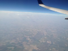 Flat plains of Kansas Photo