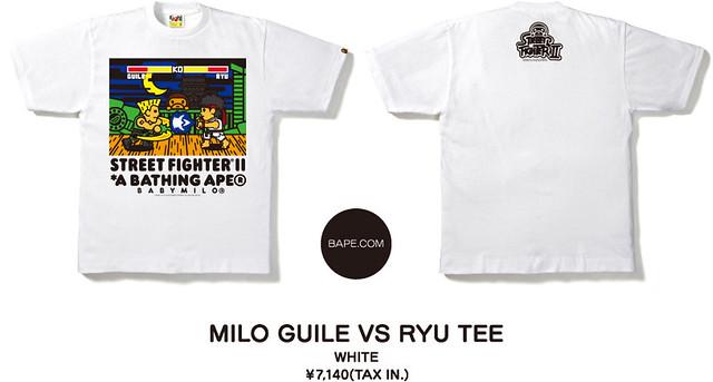 『A BATHING APE × 快打旋風』聯名T恤上市!