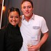 Chef Maria Huynh with VUW Co-Founder, Mike Macquisten