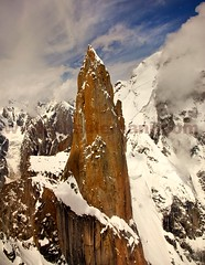 Trango Towers,PAKISTAN  ,,,, EXPLORED Sep 9, 2012 #16Added (TARIQ HAMEED SULEMANI) Tags: summer mountains tourism colors trekking canon sensational tariq skardu supershot mountainsofpakistan concordians sulemani valleysofpakistan