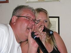 Jussi and Nina karaoke