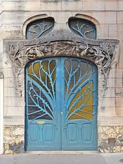 Maison Huot de style art nouveau (Nancy) (dalbera) Tags: france artnouveau nancy écoledenancy dalbera emileandré maisonhuot