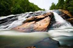 Bridal Veil Falls - DuPont State Park, NC (csteinmetz1) Tags: water rock flow waterfall nc kitlens northcarolina falls 1855 bridalveilfalls ndfilter nikond90 hoyand400