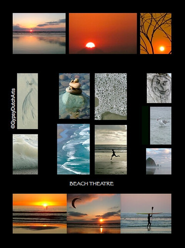 Beach Theatre Collage (c)