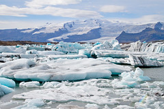 Frozen Sea (Jackman Chiu) Tags: lake snow mountains ice nature water river iceland paradise day south glacier clear jkulsrln glacierlagoon