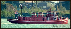 Edward M. Cotter Buffalo, NY (Jodi:)) Tags: boat lakeerie vessel tugboat buffalony fireboat workboat edwardmcotter emergencyvessel workvessel