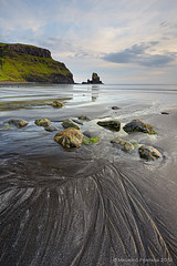 Talisker Bay sand (Maurizio Fontana) Tags: road street travel blue light sunset sea sky cloud lake color reflection green castle fall water colors clouds reflections river lago lights mirror scotland waterfall travels nikon europa europe strada tramonto nuvole mare colore nuvola blu united fiume kingdom waterfalls cielo land luci terra acqua colori riflessi isle castello viaggi viaggio luce specchio isola d800 riflesso cascate cascata scozia vedre unito regno