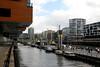 Canalside_Hafen City (bobarcpics) Tags: canal waterfront hamburg boardwalk urbanrenewal hafencity germanarchitecture germancities