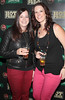 Joanna Rooney and Melissa Tynan at the Jameson Launch Party for the Hot Press Yearbook 2012 at The Workman's Club,Dublin..Picture Brian McEvoy