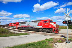 INRD 9025 New Lebanon IN 08 Sept 2012 (Train Chaser) Tags: sd90mac inrd indianarailroad inrd9025