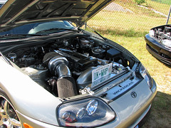 Toyota Supra modified by Wicked C.A.S. - 1,000 HP (lucre101) Tags: show charity new england cars car race ball airport automobile unique massachusetts jimmy cancer plymouth dana fast hampshire quicksilver racing institute garrett helicopter turbo wicked massive toyota modified precision 1998 dual tuner ricky 1000 yuppie municipal cas 2012