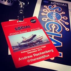 Love the new #NASASocial badges.