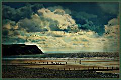 Everyday is like Sunday (brynmeillion - JAN) Tags: sea beach wales clouds sand morrissey cymru pebbles explore ceredigion mor borth tywod traeth cymylau everydayislikesunday nikond80 ipiccybrynmeillion