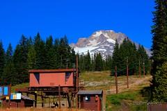 Mt Hood (misterladybug) Tags: blue camp sky snow ski oregon mt lift peak government hood thegalaxy misterladybug
