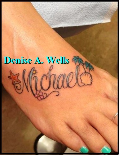 Name Tattoos On Foot