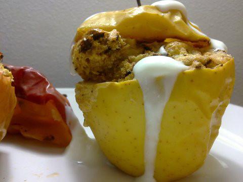 Manzana Muffin 4