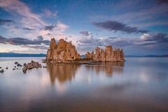 Blue Hour Turns to Night (Jeffrey Sullivan) Tags: california copyright usa jeff nature canon landscape photography mono photo september sullivan monolake tufa ultrawide 2012 easternsierra leevining inff 5dmarkiii caliparks