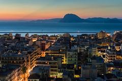 The City of Patras (Christophe_A) Tags: sunset sea night 50mm nikon clear greece christophe d800 patra christopheanagnostopoulos χριστοφοροσαναγνωστοπουλοσ χριστόφοροσαναγνωστόπουλοσ