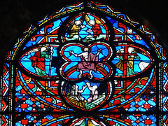 Window of the Covenent (Walwyn) Tags: france glass cathedral medieval stained tours covenent