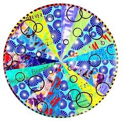 CO2 Mandala   Pop-Up Print (pop up prints) Tags: flowers multiples mandalas cncrouter recycledplasticbags