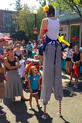 Girl In Awe (logan.brown) Tags: fall girl festival dc washington balloon young neighborhood iphone barracksrow