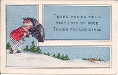Vintage Christmas 1919 (Mailbox Happiness-Angee at Postcrossing) Tags: christmas postcard merrychristmas christmascard vintagechristmas christmaspostcard