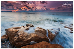 Water threads (alonsodr) Tags: longexposure sunset beach atardecer seascapes sony playa filter puestadesol reverse alpha alonso bizkaia euskadi vizcaya graduated inverso marinas pasvasco carlzeiss filtro largaexposicin degradado nd8 a900 azkorri alonsodr gnd8 alonsodaz alpha900 cz1635mm