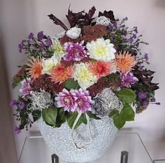 De laatste dahlias (Truus) Tags: herfst bloemen dahlias