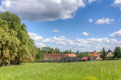 ehemaliges Kloster in Inzigkofen (th schwarz) Tags: wiese himmel wolken hdr inzigkofen klostergeister hsklostergeister2012 klostergeister2012