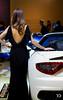 Classy (Raph/D) Tags: auto show woman paris girl beautiful car silhouette eos stand back model automobile day dress shot days best 7d motor hostess press maserati 2012 classy mondial