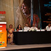 UN Women Executive Director Michelle Bachelet addresses the National Leadership Summit in Jaipur, India on 4 October 2012