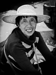 P1020589 (jowens2) Tags: china street portrait market vegetable wuhan seller panasonicgf1 olympus45mmf18