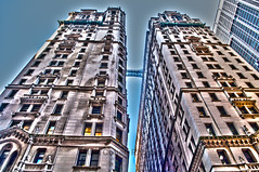 Twin Towers (matthewcohen93) Tags: newyorkcity newyork abstract art tourism architecture nikon icons angle artistic twintowers monuments artisticphotography nikond5000 todaysuploads