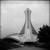 Montreal Olympiastadion (_Wilhelmine) Tags: 2012 ilforddelta agfaclick hcd2 reisefreiheit reisenbildet einmalüberngrosenteich farbbildweg