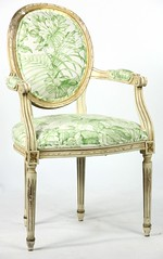 28. Vintage French Fauteuil Chair