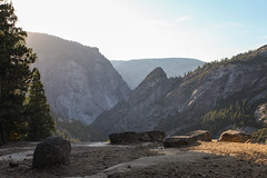 Hiking Half Dome (william couch) Tags: california friends unitedstates hiking yosemite halfdome yosemitenationalpark sierras