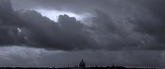 PROTAGONISTA: IL CIELO (donatadag) Tags: sky italy rome roma canon grey europe italia nuvole grigio clauds cielo cupola