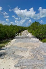 view of concrete walkway (waconature8877) Tags: sky sunlight green clouds concrete outdoors island photography day bright sunny nobody nopeople growth walkway vacant tropical greenery caribbean bahamas bushes pathway absence colorimage nonurbanscene thewayforward clarencetown concretewalkway diminishingperceptive