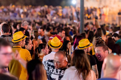 In the crowd (petia.balabanova(tnx for +1.000.000 views)) Tags: imalta crazynight night teenagers lavalletta mtv concert crowd malta 70200mm nikond800 music dj sound people yellow hats travel isle island summer bokeh