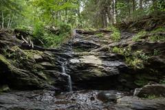 Garwin Falls (Seth J Dewey Photo) Tags: newhampshire sethjdeweyphotography wilton summer water waterfall woodlands