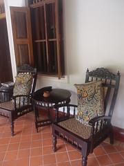 Secret Garden (Carrascal Girl) Tags: secretgarden hotel boutiquehotel kochi fortkochi india accommodation lodging furniture bedroom chair